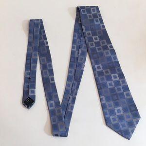 Michael Kors Blue Square Tie